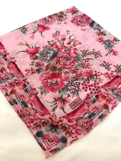 作成用スカーフ 花柄