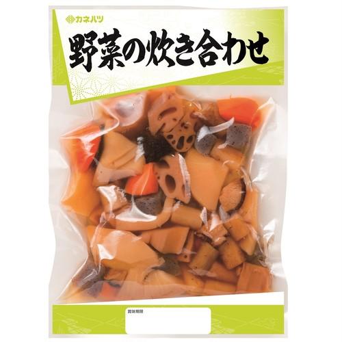 野菜の炊き合わせ365g×10個入 カネハツ・和惣菜・煮物・大容量・お弁当・おかず