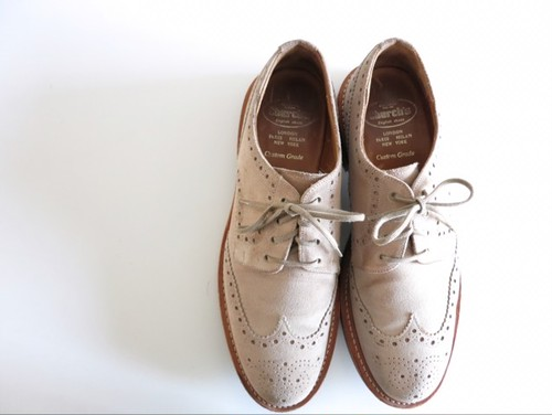 Church's Custom Grade Suede Shoes