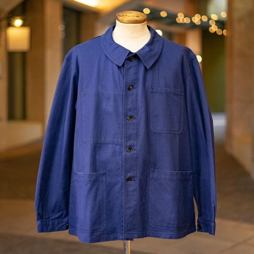 OLD FRENCH NAVY × ST.JAMES COTTON JACKET