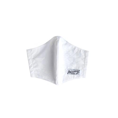 立体マスク / ガーゼ生地  /  ゴム紐付き / MMOホワイト