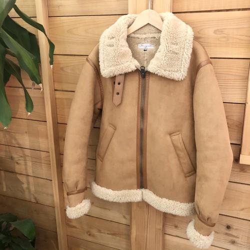 【Retro grade】eco mouton jacket