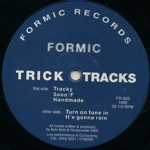 FORMIC / Trick Tracks (12 inch)