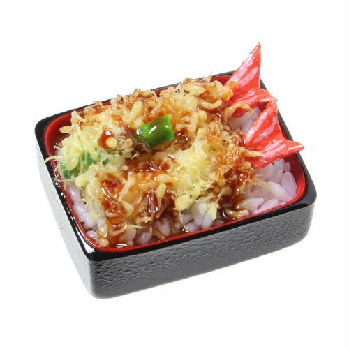 [0586]食品サンプル屋さんのマグネット(天重)【メール便不可】