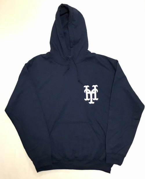 YH Mets Hoodie  (Navy×White)