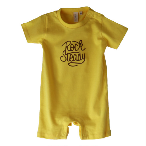 hntbk rompers rock steady(YELLOW)