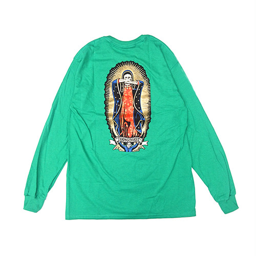 HARD LUCK - LADY G L/S TEE (Green)