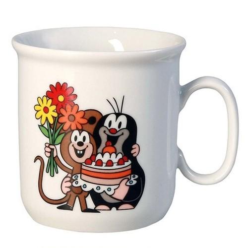 【チェコ】 クルテク  マグカップ(ケーキ) Sサイズ