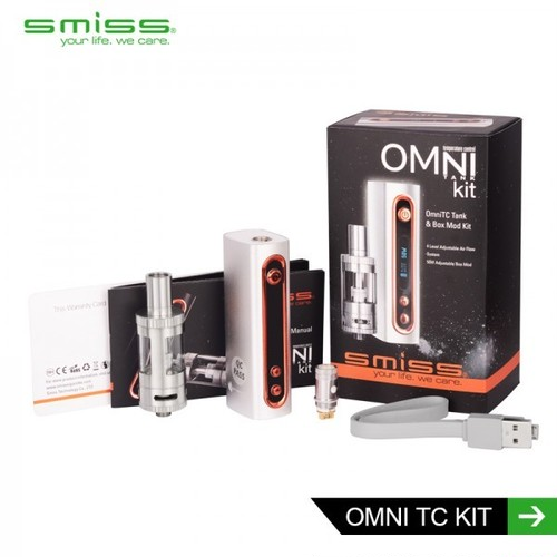 OMNI 50W 2500mAh TC TANK KIT by Smiss