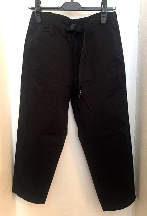 Flex Cropped Pants Black