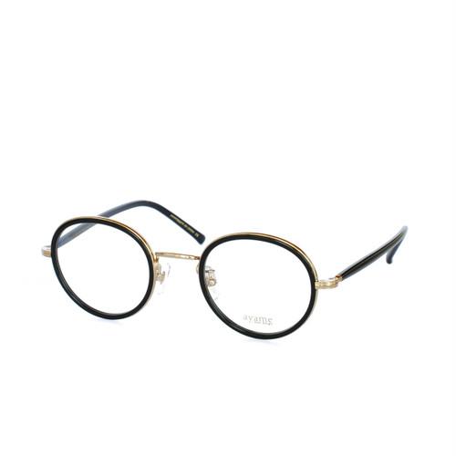 ayame:アヤメ 《FOCUS -フォーカス Col.BLK》眼鏡 ボストン
