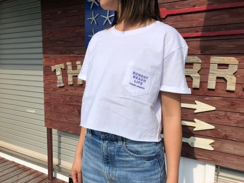 Sunday Beach Life Tシャツ(lavender × purple)