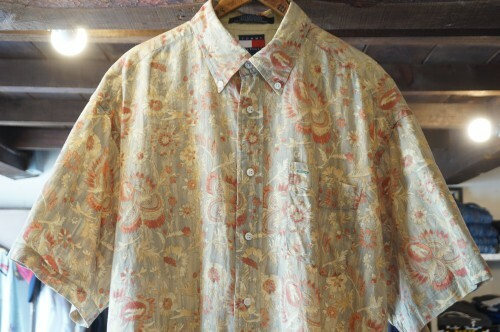 early 00's TOMMY HILFIGER botanical-print s/s Shirt