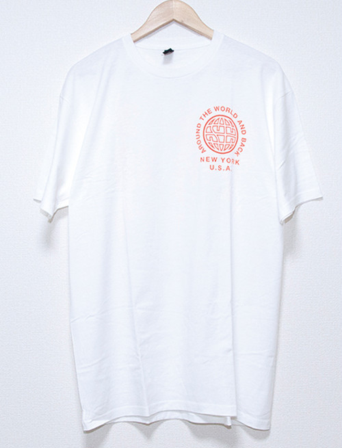 【STATE CHAMPS】Red Logo T-Shirts (White)