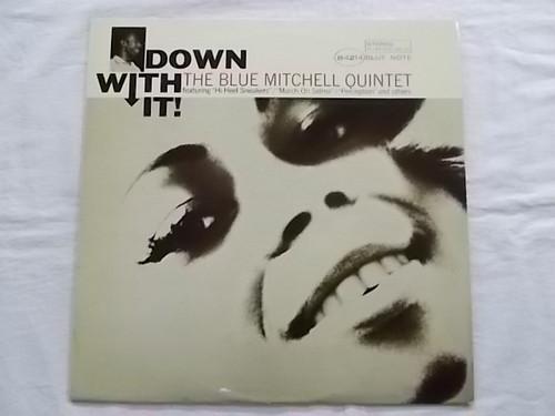 中古レコード 国内盤 LP ブルーミッチェル ダウンウィズイット 解説付 BST84214