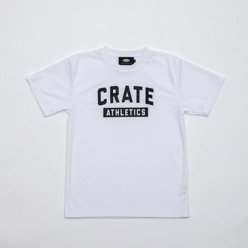 CRATE ATHLETICS Mesh T-Shirts White