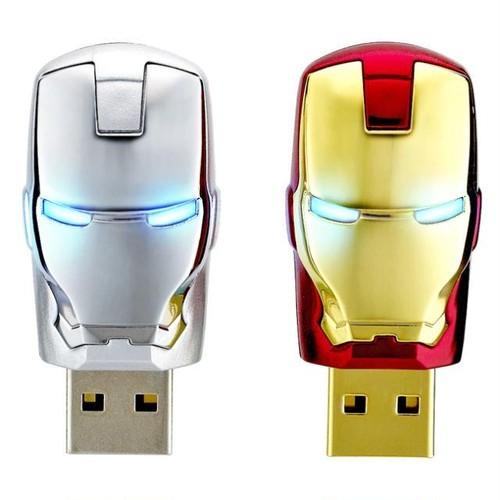 InfoThink USBメモリ MARVEL アベンジャーズ USBフラッシュドライブ 8GB アイアンマン IT-A08GIM