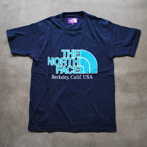 THE NORTH FACE PURPLE LABEL H/S Logo Pocket Tee