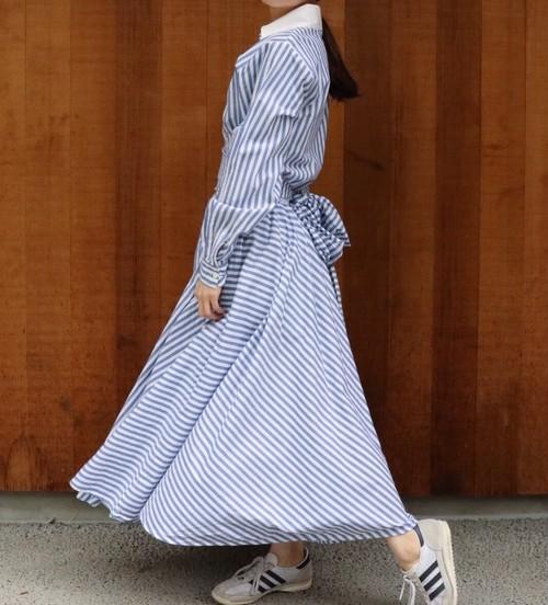 stripe design dress