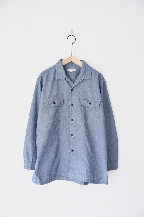 【ORDINARY FITS】ENGINEERS SHIRTS ONEWASH/OF-S36OW
