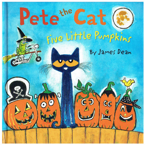 Pete the Cat ~Five little pumpkins~(ねこのピート)