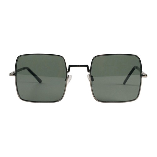 【MADCAP ENGLAND】 60sスタイル ハリスン スクエア サングラス 〈Green〉