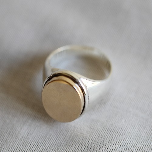 PALA【 womens 】 signet ring 002