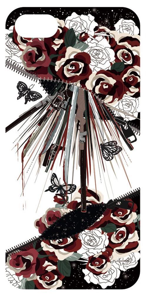 銃と花/iPhone5/5s ケース