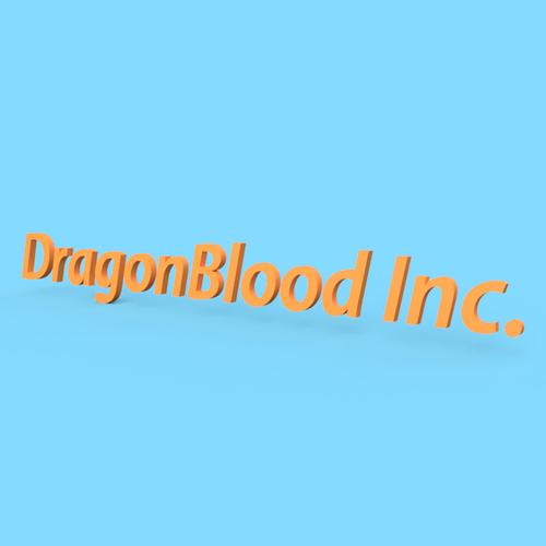 【オリジナル立体看板】DragonBlood Inc.