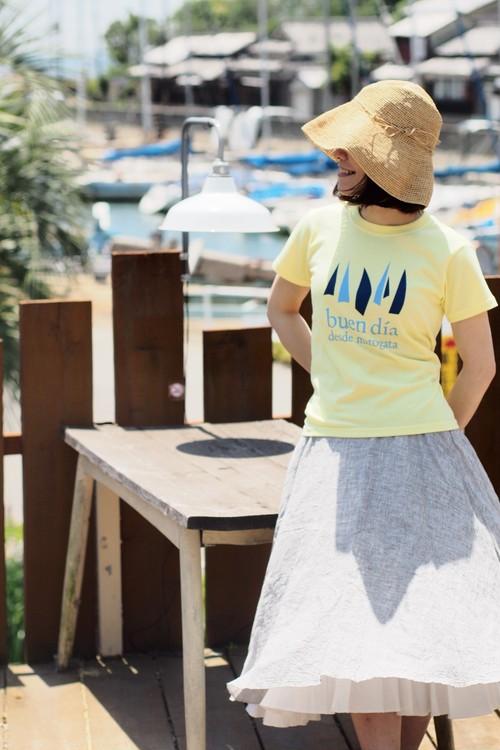 buen día T-shirt  【帆】