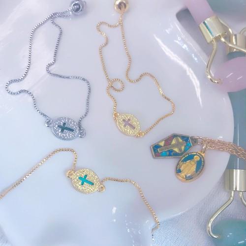 Miracle Cross Chain bracelet <reversible>