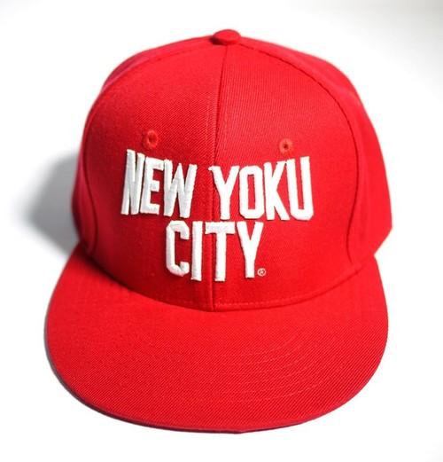 NEW YOKU CITY(入浴シティー)3D刺繍 RED
