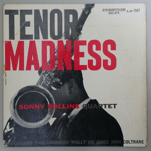 SONNY ROLLINS QUARTET / TENOR MADNESS 米オリジナル