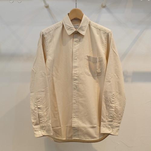 Workers(ワーカーズ) スーピマオックス レギュラーカラーシャツ エクル