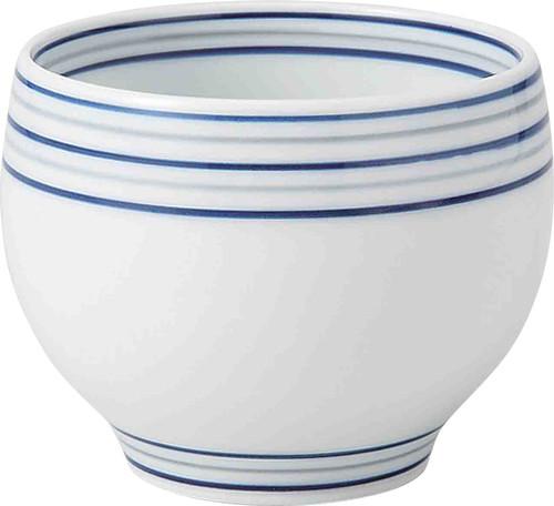 白磁渦 丸仙茶