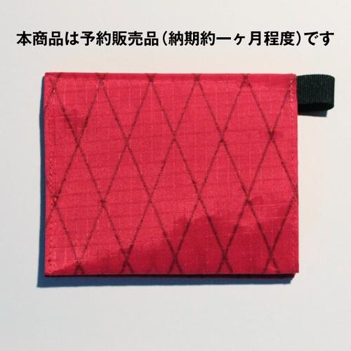 ★予約販売:決済から約二ヶ月で出荷★ Beautiful money Wallet X-Pac RED