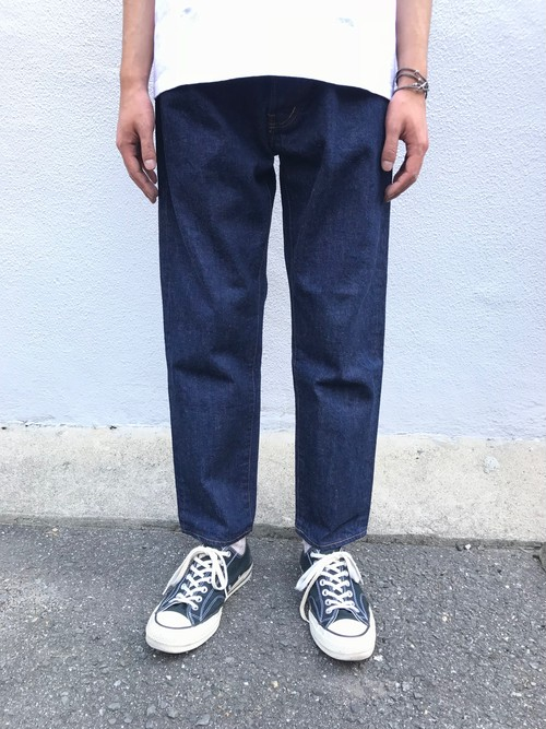 【ordinary fits】OM-P020OW / 5P ANKLE DENIM one wash