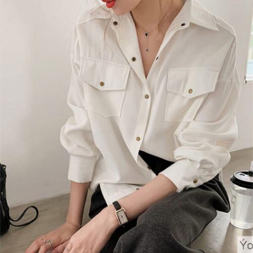 ダブルポケット シャツ 2カラー ts4153