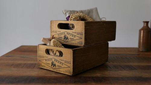 Wood Stocker Box