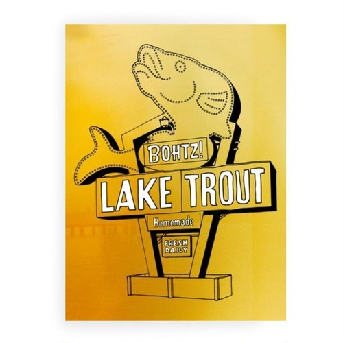 BOHTZ! LAKE TROUT / DVD