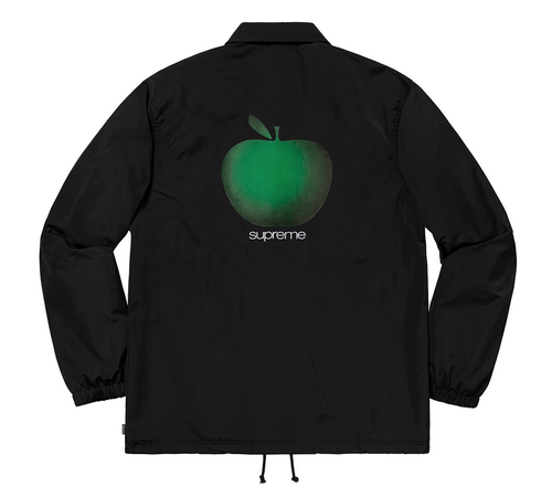 8月入荷予定★Supreme Apple Coaches Jacket