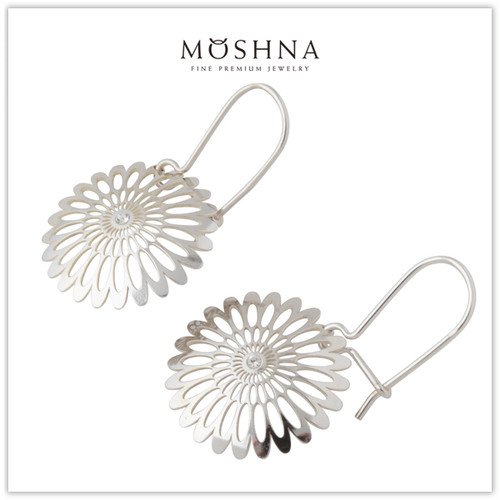 【MOSHNA:モシュナ】SILVER  EARRINGS SHINING BLOSSOM ピアス