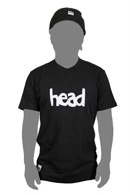 LOGO T-SHIRT MEN Black(head)