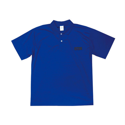 scar /////// BLACKBOX POLYESTER POLO (Blue)