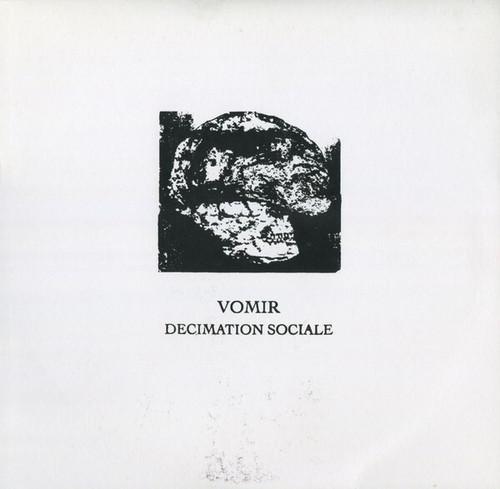 """Vomir – Decimation Sociale(10"""" LATHECUT)"""
