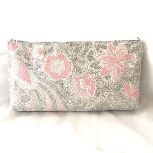 【極楽の花〜pinkプラチナム】ロングクラッチ