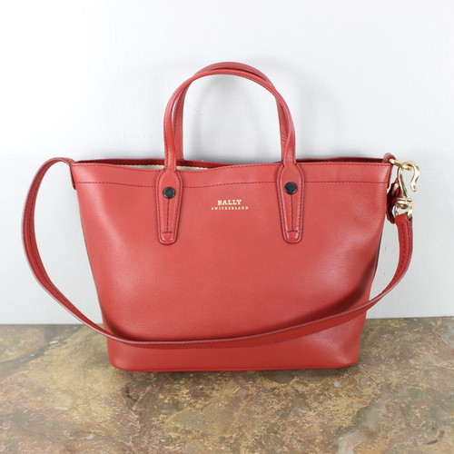 .BALLY LEATHER 2WAY SHOULDRER BAG MADE IN ITALY/バリーレザー2wayショルダーバッグ 2000000038926