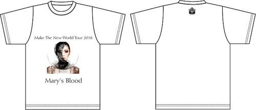 『Make The New World Tour 2018』Tシャツ:白