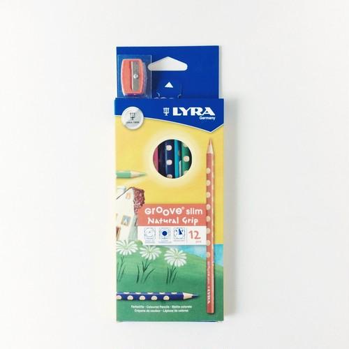 LYRA Groove slim 色鉛筆 12色 [デッドストック]