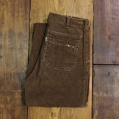 1970 - 80s Levi's Corduroy Pants Brown / リーバイス コーデュロイ フレアパンツ 茶 珍品